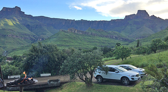 Thendele Camp Royal Natal Park uKahlamba Drakensberg Park Amphitheatre Self-Catering Family Accommodation South Africa