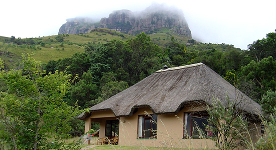 Thendele Camp Chalet Royal Natal Park uKahlamba Drakensberg Park Amphitheatre Self Catering Family Accommodation South Africa