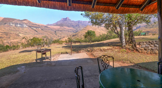 Self catering Drakensberg 4 Bed Chalet Accommodation Thendele Camp Lower Camp Royal Natal Park KwaZulu-Natal