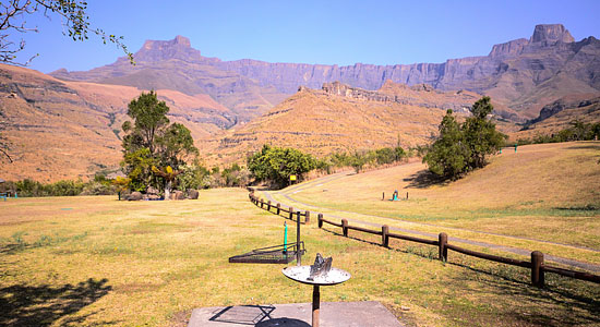 Amphitheatre Thendele Camp Self-Catering Drakensberg Accommodation Lower Camp Royal Natal Park South Africa