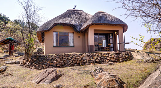 Thendele Camp 2 bed Chalet Self-Catering Drakensberg Accommodation Upper Camp Royal Natal Park