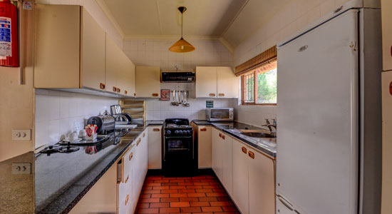 Thendele Camp 4 bed Chalet Kitchen Self-Catering Drakensberg Accommodation Upper Camp Royal Natal Park