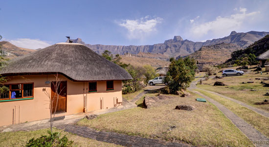 Thendele Camp 4 bed Chalet Self-Catering Drakensberg Accommodation Upper Camp Royal Natal Park